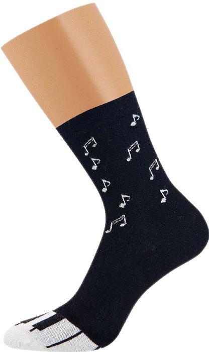 все цены на Носки женские Griff Music Пианино, цвет: черный. D3M2. Размер 35/38 онлайн