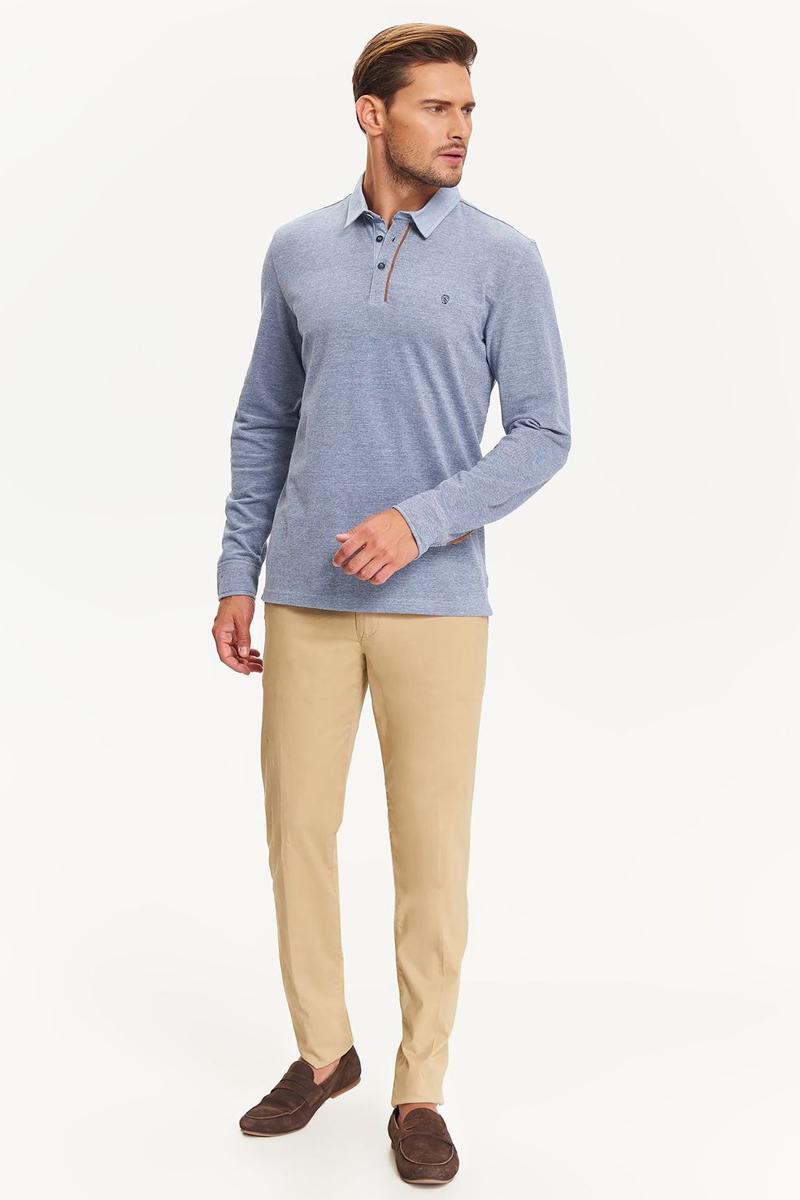 Рубашка мужская Top Secret, цвет: синий. SKL2412NI. Размер XL (50)SKL2412NI