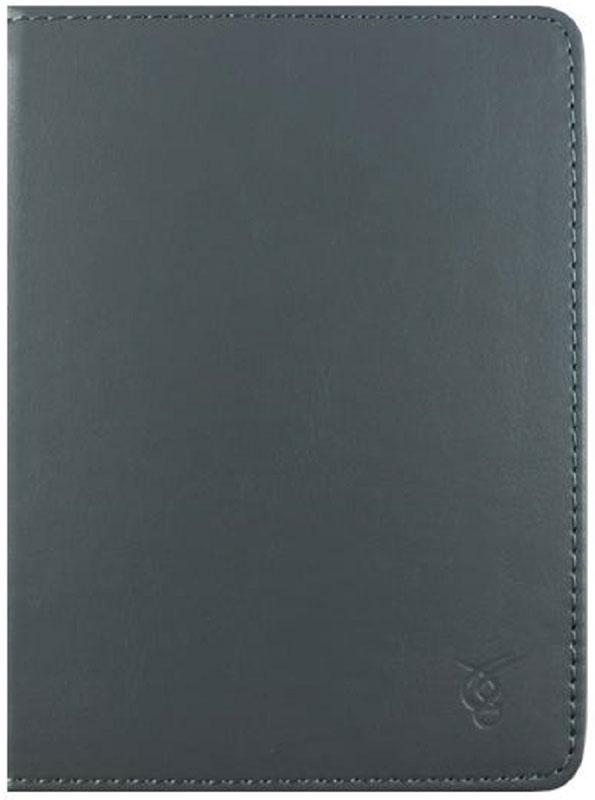 Vivacase Basic, Grey чехол для электронных книг 6VDG-STER6BS102-gr)Чехол Vivacase Basic изготовлен из высококачественной, износостойкой ПУ-кожи, обладающей удивительной долговечностью и водоотталкивающими свойствами. Мягкая подкладка приятная на ощупь. Замок–резинка 15 мм. Специальные силиконовые крепления безопасны для устройства, не царапают, не оставляют следов, не подвержены температурным перепадам, надежно удерживают устройство в любой ситуации. Продуманный дизайн обеспечивает свободный доступ к экрану, разъемам и элементам управления устройств.