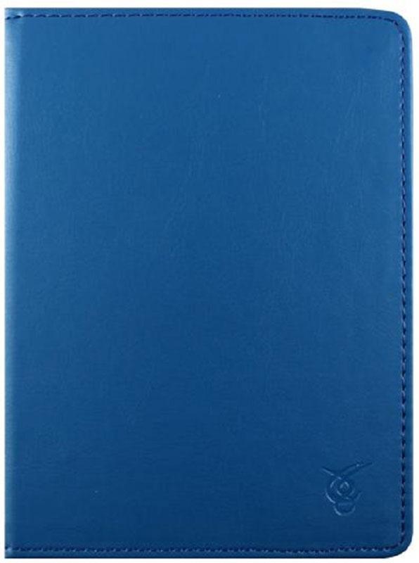 Vivacase Basic, Blue чехол для электронных книг 6VDG-STER6BS103-blueЧехол Vivacase Basic изготовлен из высококачественной, износостойкой ПУ-кожи, обладающей удивительной долговечностью и водоотталкивающими свойствами. Мягкая подкладка приятная на ощупь. Замок-резинка 15 мм. Специальные силиконовые крепления безопасны для устройства, не царапают, не оставляют следов, не подвержены температурным перепадам, надежно удерживают устройство в любой ситуации. Продуманный дизайн обеспечивает свободный доступ к экрану, разъемам и элементам управления устройств.