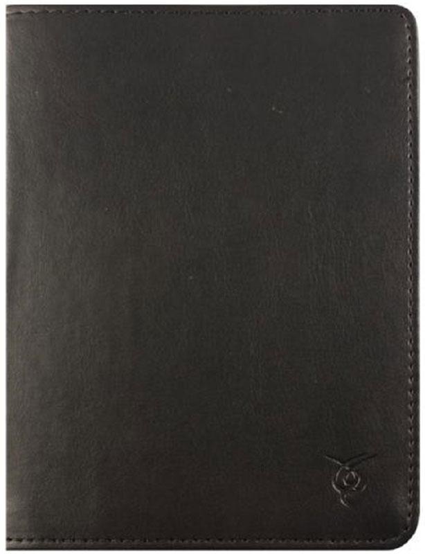 Vivacase Basic, Black чехол для электронных книг 6VDG-STER6BS100-blЧехол Vivacase Basic изготовлен из высококачественной, износостойкой ПУ-кожи, обладающей удивительной долговечностью и водоотталкивающими свойствами. Мягкая подкладка приятная на ощупь. Замок-резинка 15 мм. Специальные силиконовые крепления безопасны для устройства, не царапают, не оставляют следов, не подвержены температурным перепадам, надежно удерживают устройство в любой ситуации. Продуманный дизайн обеспечивает свободный доступ к экрану, разъемам и элементам управления устройств.
