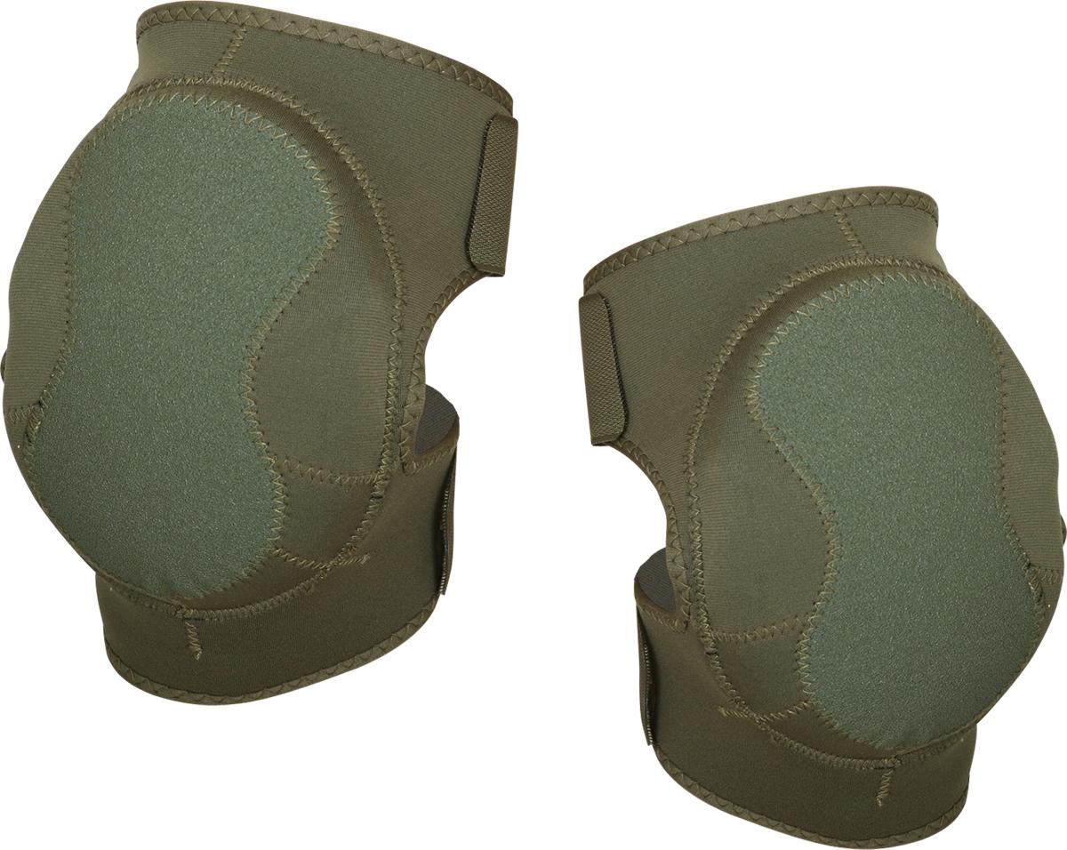 Наколенники Сплав Shturm, цвет: оливковый5063716Предназначены для защиты коленного сустава. Защитное нескользящее покрытие. Состав: пенополиэтилен, неопрен