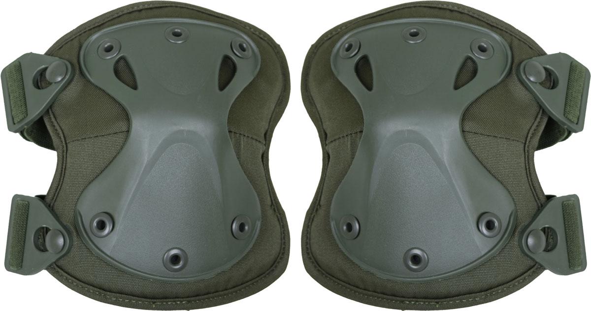 Наколенники Сплав X-Form, цвет: оливковый. 50638165063816Предназначены для защиты коленного сустава. Состав: полиэстер 600D, пенополиэтилен, пластик