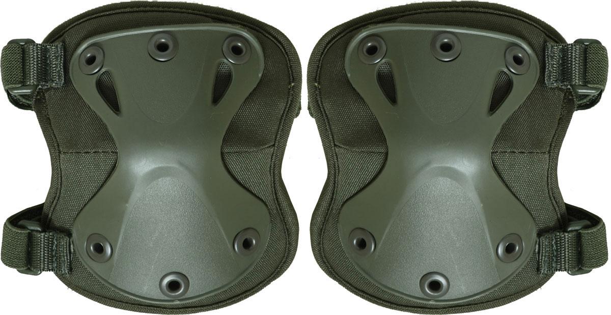 Налокотники Сплав X-Form, цвет: оливковый. 50638265063826Предназначены для защиты локтевого сустава. Состав: полиэстер 600D, пенополиэтилен, пластик