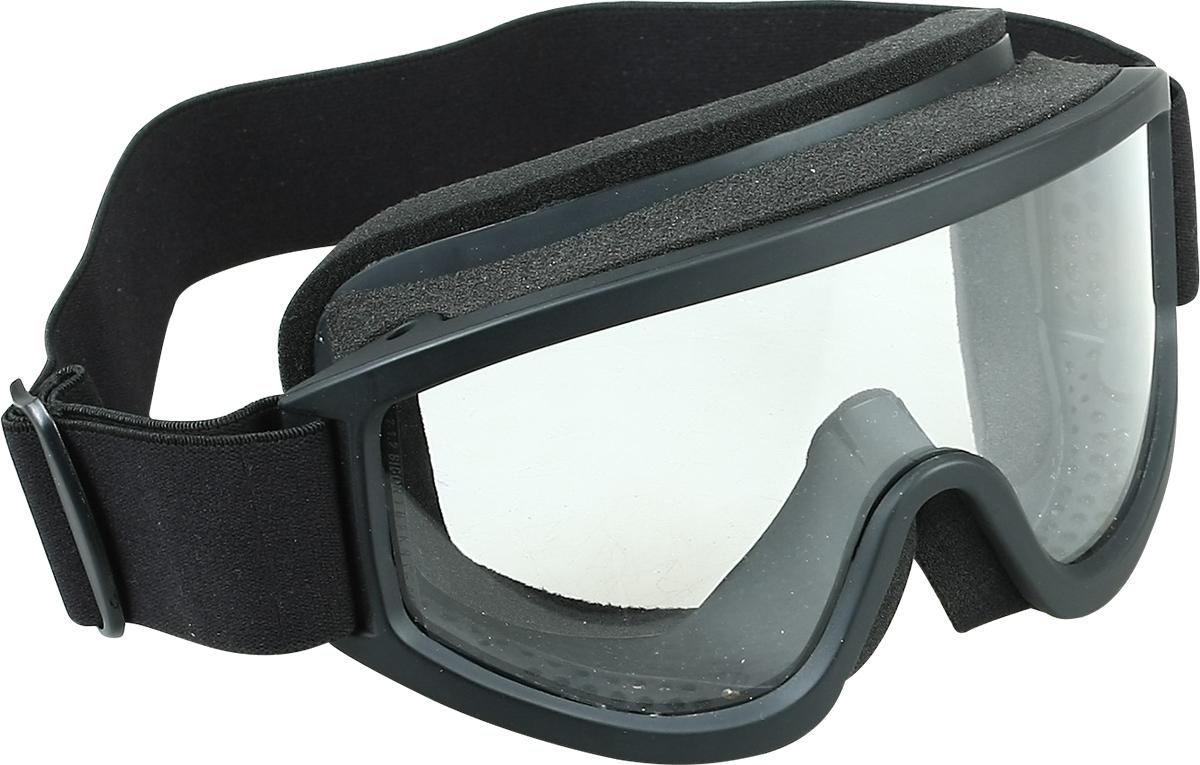 Очки стрелковые Track Hawk, защитные, со сменными фильтрами, цвет: черный. Размер M5131530Очки с непрямой вентиляцией предназначены для защиты глаз спереди и с боков от брызг и ударов твердых частиц.Современный материал поликарбонат, из которого изготовлена однослойная линза (толщина - 2,2 мм), обеспечивает защиту от ультрафиолетового и жесткого голубого излучения, соответствует стандарту и оптической корректности.Специальная технология позволяет расширить область периферийного зрения и сводит на минимум искажения при разных углах зрения.Устойчивость к царапинам.Покрытие от запотевания.За счет сменных цветовых фильтров легко адаптируются под любой тип освещенности.Устранение искажений и образования слепых пятен благодаря применению моно стекла.