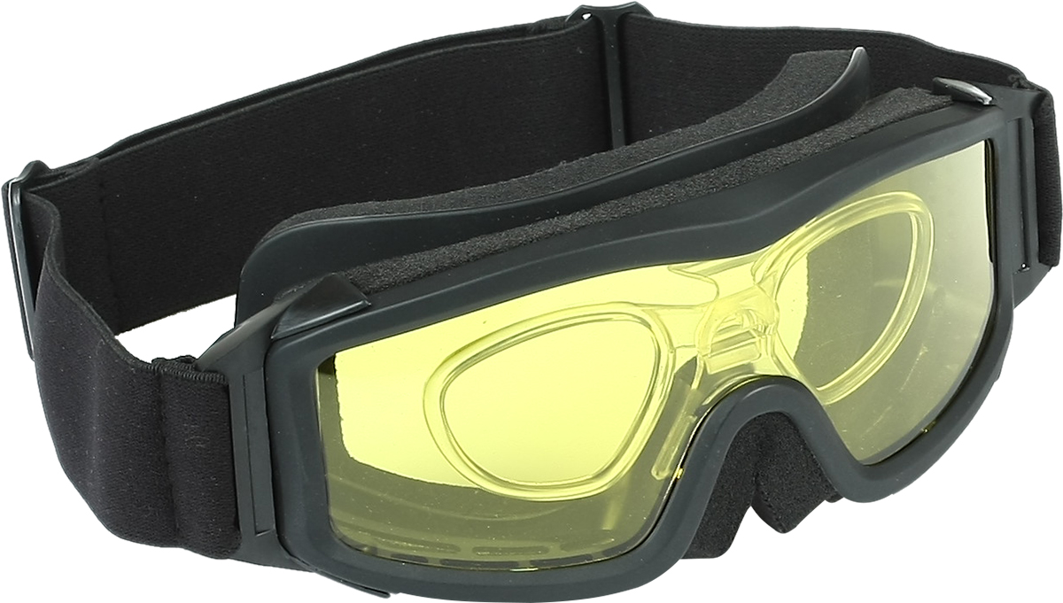 Очки стрелковые Track Osprey, защитные, со сменными фильтрами, цвет: черный. Размер M5131550Очки стрелковые Track Osprey.Очки с непрямой вентиляцией предназначены для защиты глаз спереди и с боков от брызг и ударов твердых частиц.Современный материал поликарбонат, из которого изготовлена однослойная линза (толщина - 2,7 мм), обеспечивает защиту от ультрафиолетового и жесткого голубого излучения, соответствует стандарту и оптической корректности.Специальная технология позволяет расширить область периферийного зрения и сводит на минимум искажения при разных углах зрения.Устойчивость к царапинам.Покрытие от запотевания.За счет сменных цветовых фильтров легко адаптируются под любой тип освещенности.Устранение искажений и образования слепых пятен благодаря применению моно стекла.В комплекте оправа для установки диоптрий.