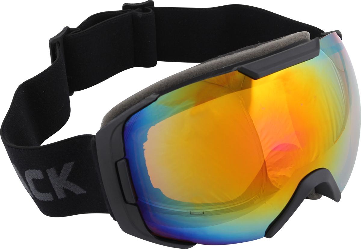 """Очки горнолыжные Track """"Snow Shape"""", защитные, цвет: черный. Размер M"""