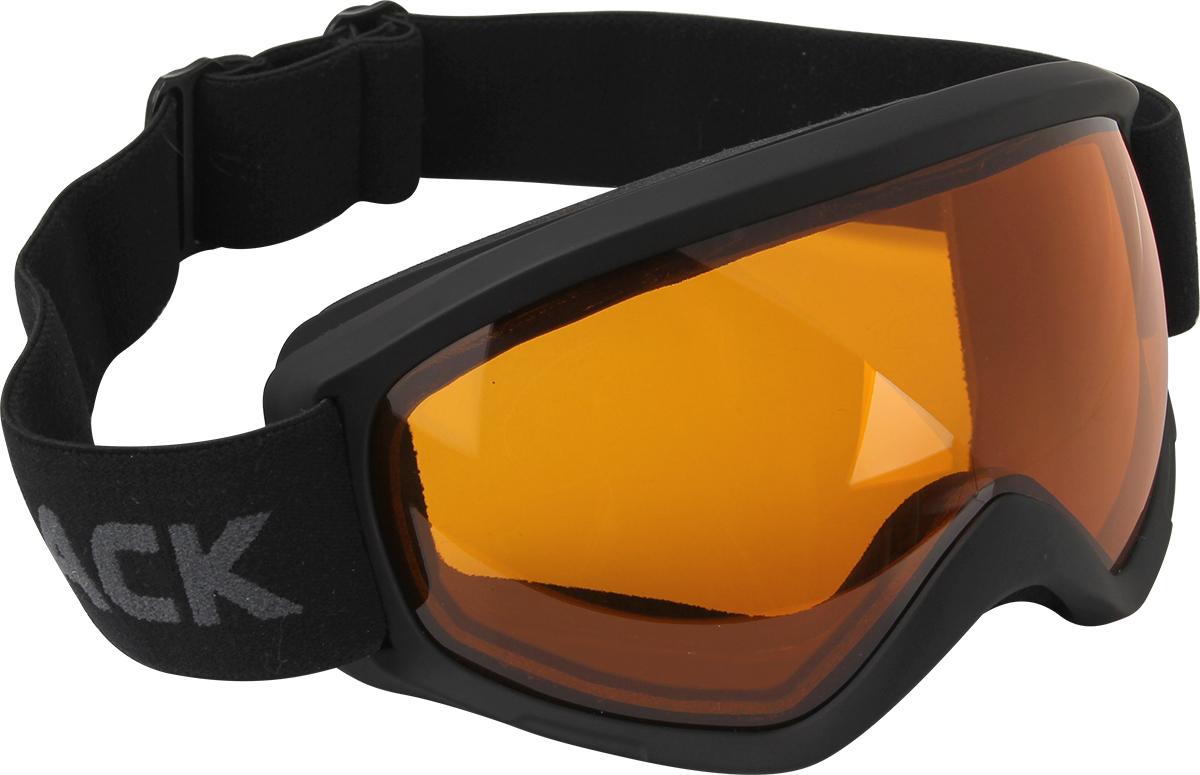 Очки горнолыжные Track Snow Shine, защитные, цвет: черный. Размер M5131586Горнолыжные очки с двойным фильтром, который не запотевает даже в самых сложных погодных условиях.Линзы: желто-коричневые для использования в облачную погоду и в тумане.Обтюратор проклеен флисовой полоской, что удобно при долгой эксплуатации, и не запотевает благодаря двойному фильтру.Прочный чехол.