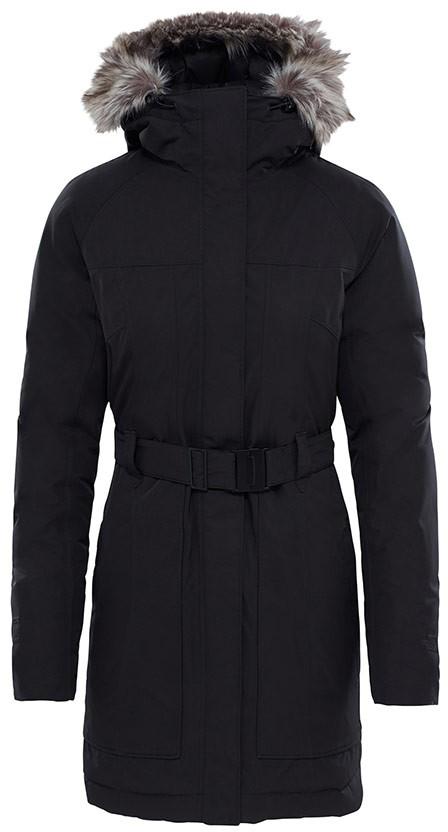 Пуховик женский The North Face W Brooklin Parka 2, цвет: черный. T93BMYJK3. Размер XS (40/42) чехлы для чемоданов fancy armor чехол для чемодана модель travel suit eco circles