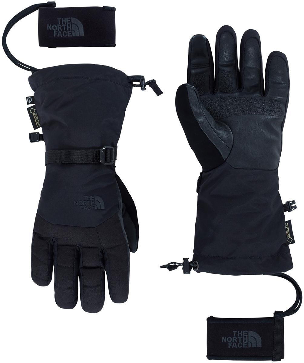 Перчатки мужские The North Face M Montana Gtx Glv, цвет: черный. T9334AJK3. Размер L (8)T9334AJK3Перчатки The North Face защищают руки от холода, сохраняя полную свободу движений пальцев.