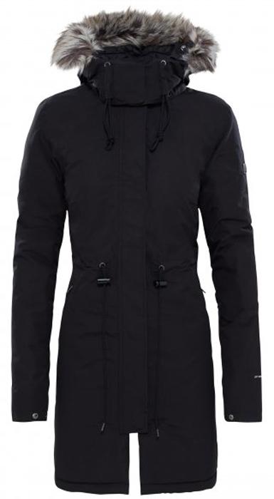 Куртка женская The North Face W Zaneck Parka, цвет: черный. T92TUPLQ6. Размер M (44/46)T92TUPLQ6