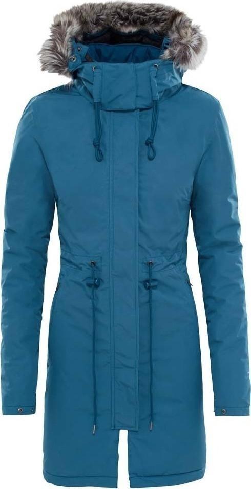 Куртка женская The North Face W Zaneck Parka, цвет: синий. T92TUP44A. Размер XS (40/42)T92TUP44A