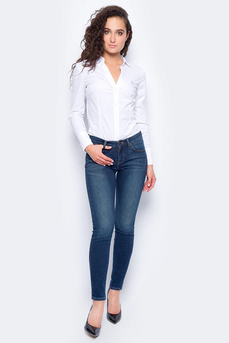 Джинсы женские Lee Scarlett, цвет: синий. L526KIMS. Размер 27-33 (42/44-33) женские джинсы lee