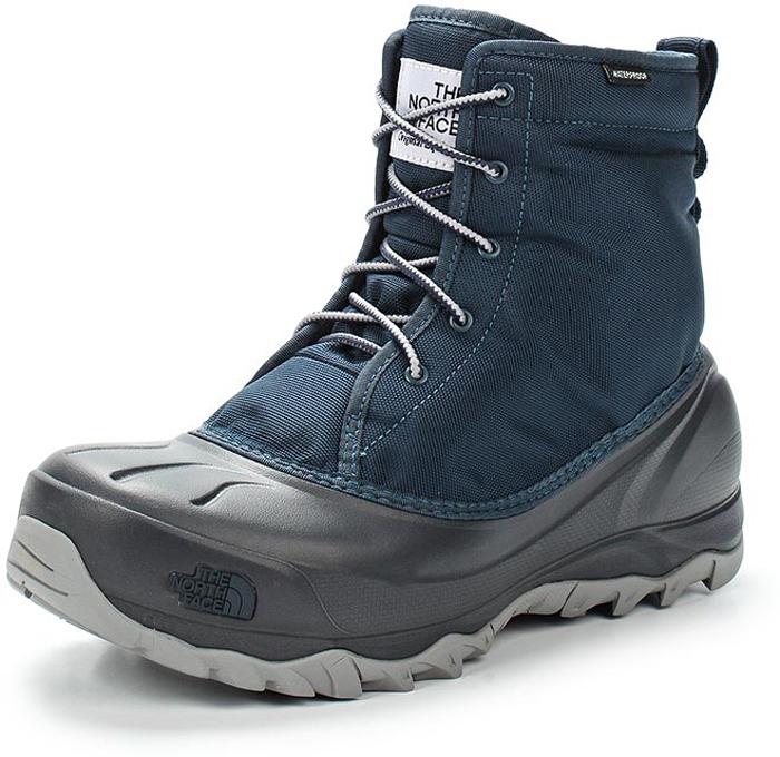 Ботинки женские The North Face W Tsumoru Boot, цвет: синий, серый. T93MKTFN1. Размер 11 (41)T93MKTFN1Женские водонепроницаемые ботинки Tsumoru Boot от The North Face с мягкой подкладкой из флиса. Гарантированно сохранят ноги в сухости во время зимних приключений. Мембрана HydroSeal защитит ваши ноги от замерзающих луж, в то время как материал PrimaLoft Silver Insulation Eco надежно сохранит тепло ног. Прочная резиновая подошва TNF Winter Grip обеспечивает надежное сцепление с непредсказуемой зимней поверхностью.
