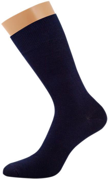 Носки мужские Griff Classic, цвет: синий. Var.1. Размер 42/44Var.1Классические зимние гладкие мужские носки изготовлены из хлопка с добавлением эластана и полиамида. Носки с широкой комфортной резинкой.