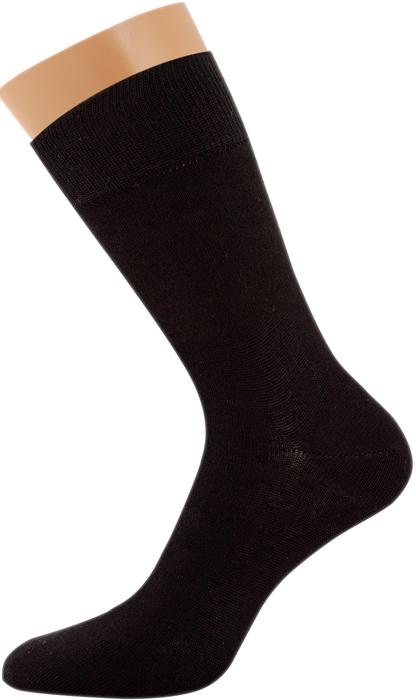 Носки мужские Griff Classic, цвет: черный. Var.1. Размер 45/47Var.1Классические зимние гладкие мужские носки изготовлены из хлопка с добавлением эластана и полиамида. Носки с широкой комфортной резинкой.