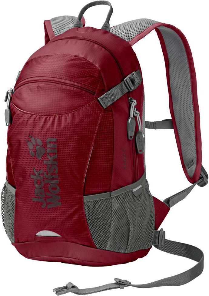 Рюкзак Jack Wolfskin Velocity 12, цвет: бордовый, 12 л. 2004961-2150 рюкзак с гидратором для бега