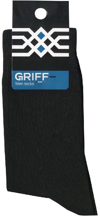 Носки мужские Griff Economy, цвет: черный. BP42. Размер 39/41BP42Классические гладкие эластичные всесезонные мужские носки от Griff выполнены из хлопка. Носки c комфортной резинкой.