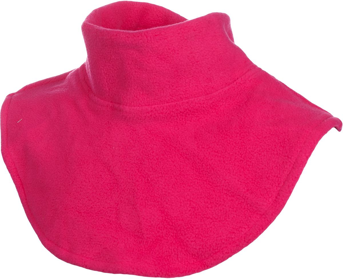 Манишка флисовая детская atPlay!, цвет: розовый. 1f750. Размер универсальный1f750Манишка от atPlay!, выполненная из Polar Fleece, обеспечит дополнительную защиту шеи ребенка от ветра и холода. Размер регулируется удобной застежкой на липучке. Манишки намного удобнее надевать и носить, чем привычные шарфы. Идеально подходит для прогулок осенью, а также активного отдыха на природе морозной зимой.