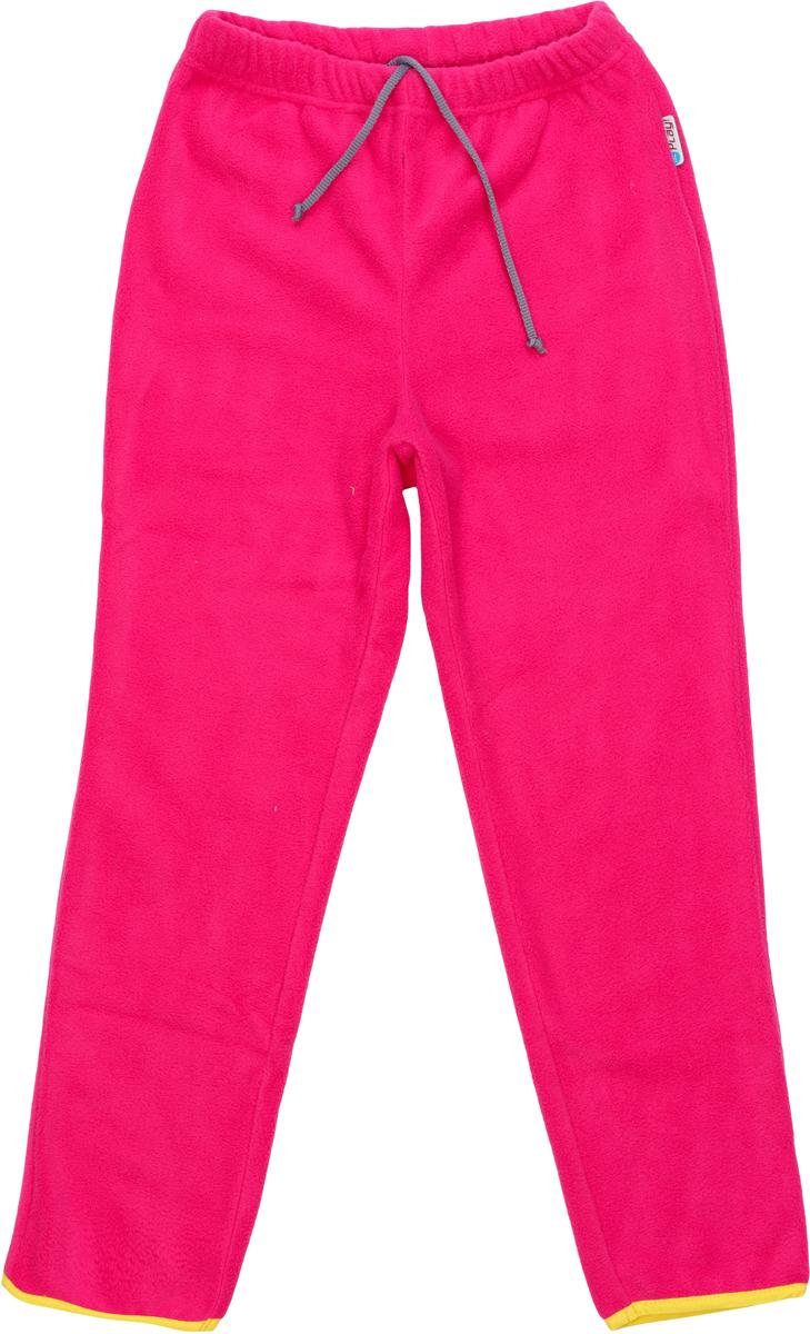 Брюки флисовые для девочки atPlay!, цвет: розовый. 1fpt753. Размер 1161fpt753Брюки флисовые для девочки от atPlay! подходят для прогулок в прохладную погоду и для активного отдыха на природе. Можно носить как самостоятельно, так и в качестве утепляющего среднего слоя под мембранные брюки в зимнее время. Брюки сшиты из удивительно мягкого на ощупь и теплого материала Polar Fleece, который отлично сохраняет тепло тела и хорошо отводит влагу во время активных прогулок. Материал проходит двойную антипиллинговую обработку, предотвращающую появление катышков.