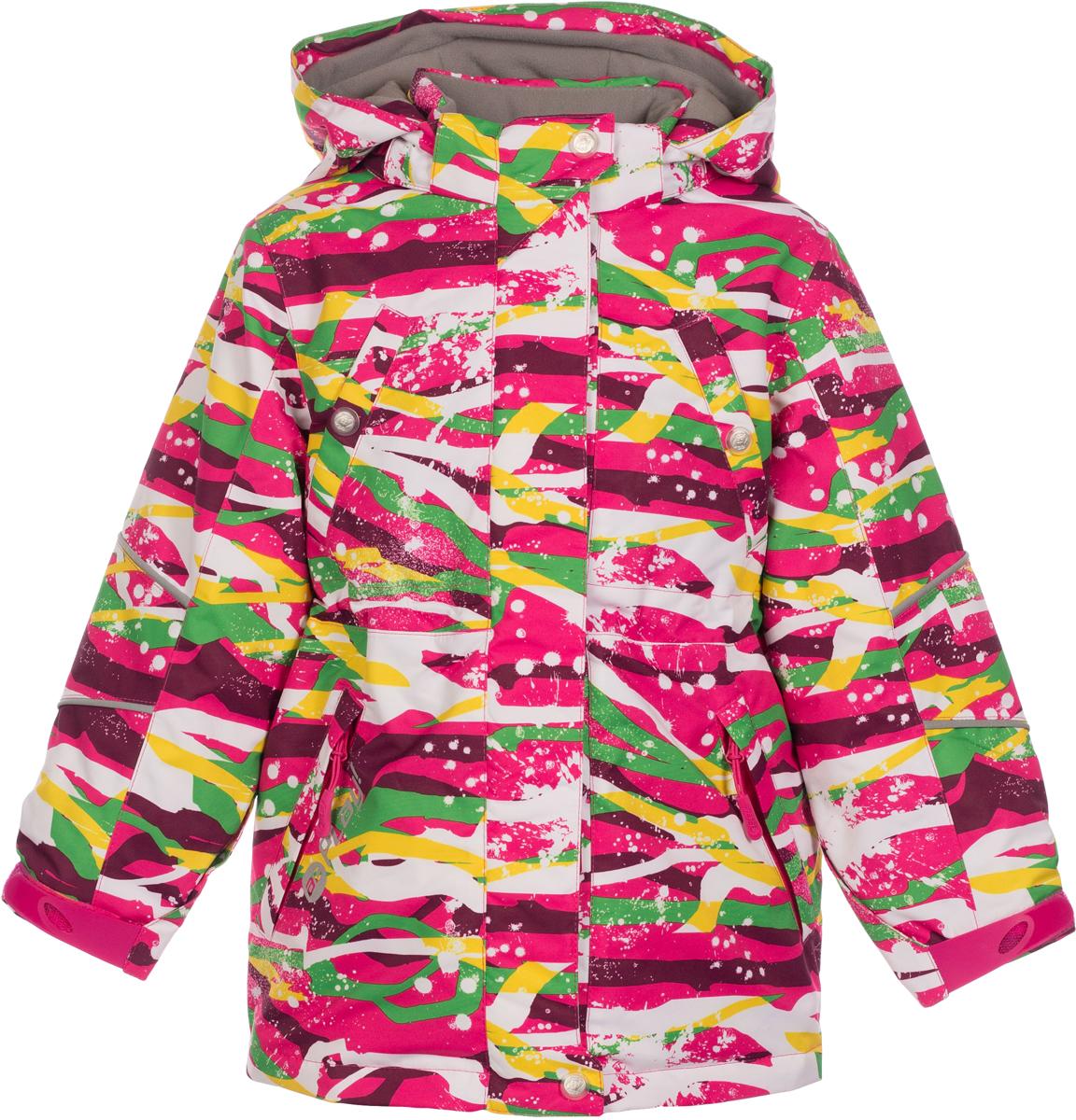 Куртка для девочек atPlay!, цвет: розовый. 1jk723. Размер 1161jk723