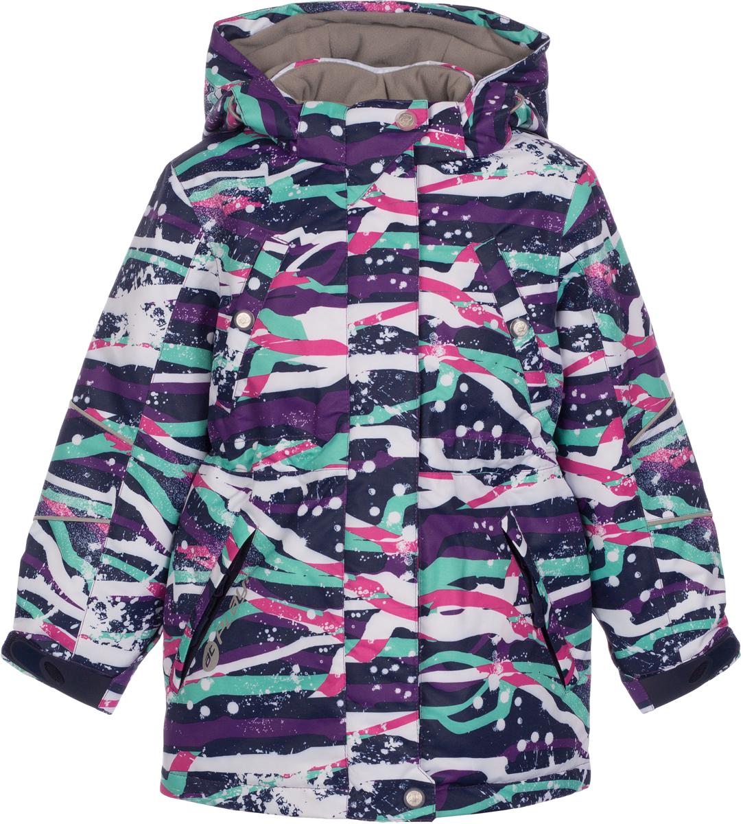 Куртка для девочек atPlay!, цвет: фиолетовый. 1jk723. Размер 1161jk723