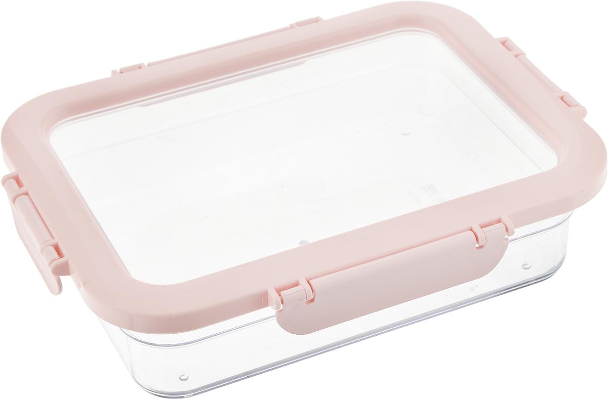 Контейнер для продуктов Herevin, цвет: розовый, прозрачный, 1,3 л161421-500_розовыйКонтейнер для продуктов Herevin изготовлен из качественного пищевого пластика без содержания BPA. Крышка с 4 защелками плотно и герметично закрывается, что позволяет сохранять продукты свежими долгое время.Такой контейнер подойдет для использования дома, его можно взять с собой на работу, учебу, в поездку.Можно использовать в микроволновой печи без крышки, ставить в холодильник. Нельзя мыть в посудомоечной машине.