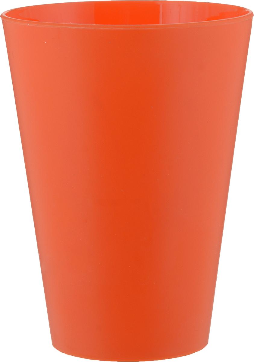 Стакан Gotoff, цвет: оранжевый, 400 млWTC-212_оранжевыйСтакан Gotoff выполнен из прочного пищевого полипропилена. Изделие отлично подойдет как для холодных, так и для горячих напитков. Его удобно использовать дома или на даче, брать с собой на пикники и в поездки. Отличный вариант для детских праздников. Такой стакан не разобьется и будет служить вам долгое время.Можно мыть в посудомоечной машине. Диаметр стакана (по верхнему краю): 8,5 см.Высота стакана: 11,5 см.