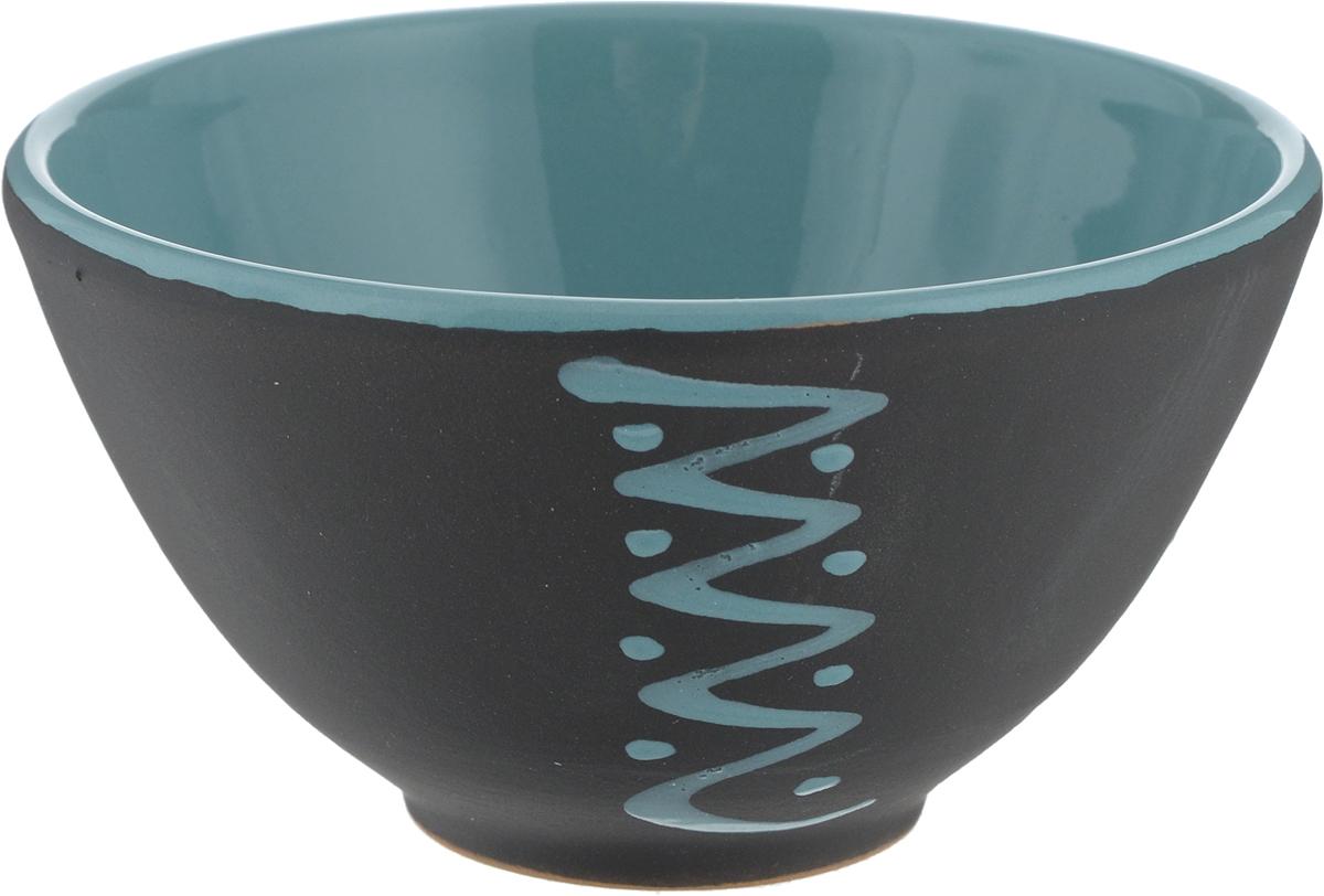 Пиала Борисовская керамика Классика, цвет: черный, бирюзовый, 250 мл2970771Пиала Борисовская керамика Классика изготовлена из высококачественной керамики, свнешней стороны с матовым покрытием, а с внутренней покрыта глазурью. Внешняя стенкаоформлена узором. Изделие прекрасно подойдет для подачи салата или мороженого. Благодаряизысканному дизайну такая пиала станет бесспорным украшением вашего стола.Объем: 250мл.