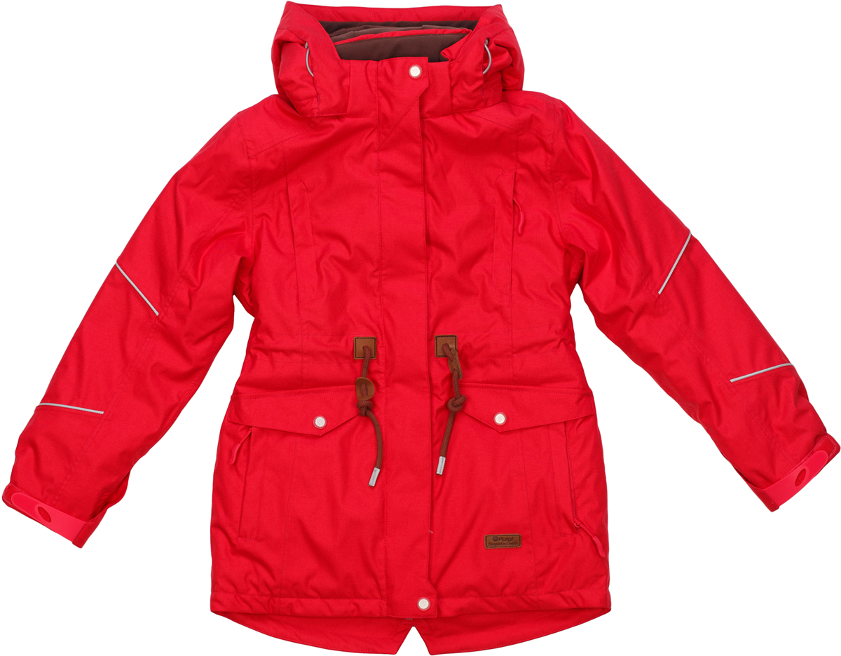 Куртка для девочки atPlay!, цвет: розовый. 1jk724. Размер 1341jk724Стильная и яркая куртка-парка от atPlay! для девочки идеальна для зимы с ее непостоянной погодой. Мембранная ткань с показателями 10000/10000 помогает противостоять высокой влажности, ветру и мокрому снегу. Внешний слой ткани обладает грязе- и водоотталкивающей способностью за счет покрытия Teflon. В зимней куртке atPlay! используется самый технологичный на сегодняшний день утеплитель Thinsulate. Его уникальные характеристики позволяют сохранять тепло в 3 раза лучше по сравнению с другими видами утеплителей. Парка дополнена рядом элементов для максимального комфорта в прохладную зимнюю погоду — регулируемый капюшон, мягкий воротник, снегозащитная юбка, утяжка по талии, эластичные манжеты, проклеенные швы. Куртка-парка станет незаменимой и для походов в школу, и на горнолыжном склоне, и на увлекательной прогулке.