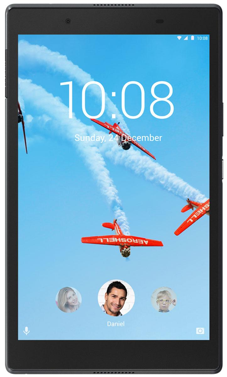 Lenovo Tab 4 8 (TB-8504X), BlackZA2D0036RUСобираетесь ли вы поработать дома, совершить покупки в интернет-магазинах или просто почитать новости и посмотреть кино, планшет Lenovo Tab 4 8 идеально подходит для любых задач. Высокопроизводительный планшет в стильном и прочном корпусе оснащен 8-дюймовым дисплеем с ярким изображением, мощным аккумулятором и динамиками с богатым качественным звучанием. Каждый может создать собственную учетную запись на устройстве, а для детей предусмотрены специальные надстройки.Lenovo Tab 4 8 прекрасно подходит для просмотра видео со стриминговых сервисов, например любимых шоу на Amazon, Hulu или Netflix. 8-дюймовый дисплей стандарта HD (1280x800) имеет широкий угол обзора. Результат? Идеальное качество изображения.Благодаря технологии Dolby Atmos планшет Lenovo Tab 4 8 обеспечивает превосходное звучание и превращается в мобильный центр развлечений. Наслаждайтесь по-настоящему объемным звучанием в наушниках или без.Благодаря толщине всего 8,3 мм и весу в 320 г использовать Lenovo Tab 4 8 удобно и взрослым, и детям.В стильном корпусе Lenovo Tab 4 8 размещен мощный 64-разрядный четырехъядерный процессор Qualcomm Snapdragon. Объем оперативной памяти составляет 2 ГБ, а хранилища — 16 ГБ. Этот планшет справится с любой поставленной задачей.С фактами не поспоришь: в большинстве семей планшет используют все, от мала до велика. Поэтому при проектировании Lenovo Tab 4 8 учитывались потребности самых разных пользователей. Теперь на одном планшете каждый член семьи может создать собственную учетную запись с индивидуальным паролем, настройками и аккаунтами в социальных сетях.Lenovo Tab 4 8 — это без преувеличения универсальный семейный планшет. Это изящное портативное устройство может подключаться к сетям 4G и поддерживать высокую скорость загрузки, скачивания и потоковой передачи.Планшет сертифицирован EAC и имеет русифицированный интерфейс, меню и Руководство пользователя.