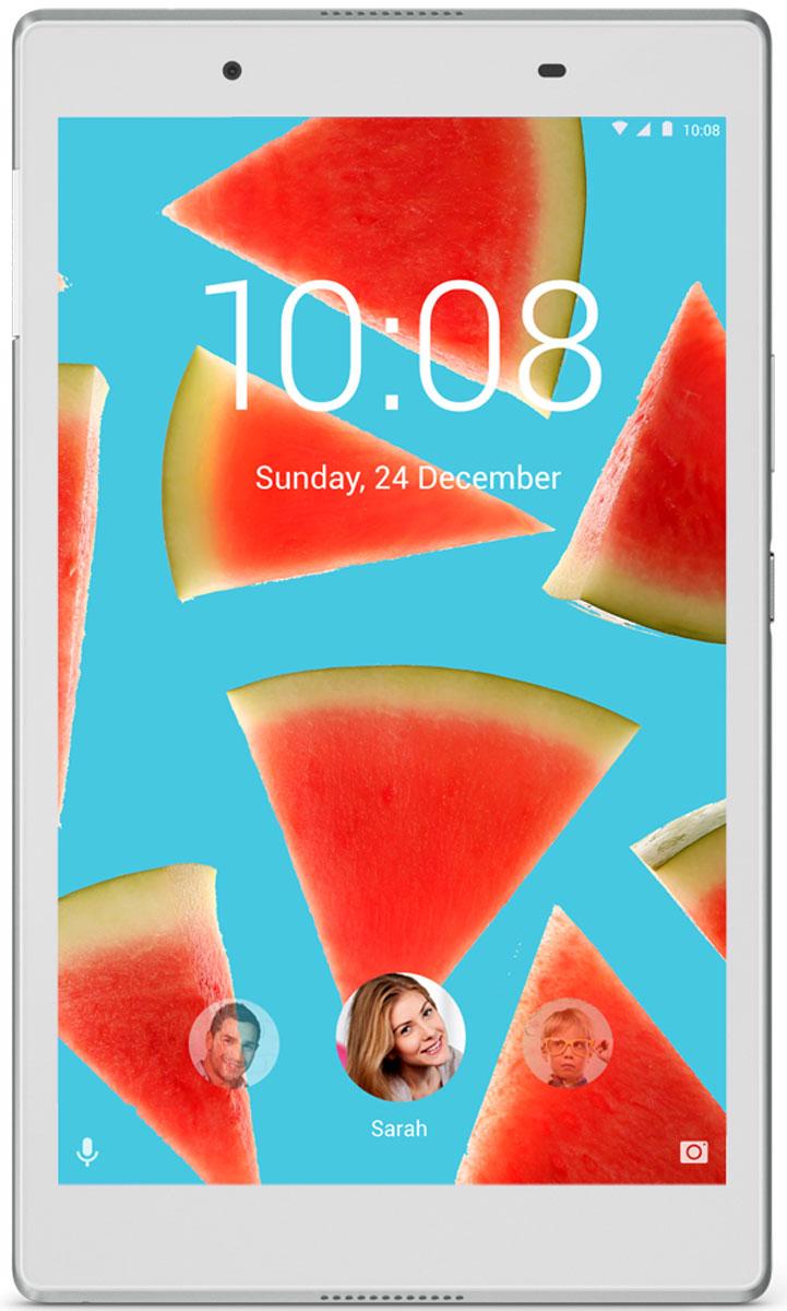 Lenovo Tab 4 8 (TB-8504X), WhiteZA2D0059RUСобираетесь ли вы поработать дома, совершить покупки в интернет-магазинах или просто почитать новости и посмотреть кино, планшет Lenovo Tab 4 8 идеально подходит для любых задач. Высокопроизводительный планшет в стильном и прочном корпусе оснащен 8-дюймовым дисплеем с ярким изображением, мощным аккумулятором и динамиками с богатым качественным звучанием. Каждый может создать собственную учетную запись на устройстве, а для детей предусмотрены специальные надстройки.Lenovo Tab 4 8 прекрасно подходит для просмотра видео со стриминговых сервисов, например любимых шоу на Amazon, Hulu или Netflix. 8-дюймовый дисплей стандарта HD (1280x800) имеет широкий угол обзора. Результат? Идеальное качество изображения.Благодаря технологии Dolby Atmos планшет Lenovo Tab 4 8 обеспечивает превосходное звучание и превращается в мобильный центр развлечений. Наслаждайтесь по-настоящему объемным звучанием в наушниках или без.Благодаря толщине всего 8,3 мм и весу в 320 г использовать Lenovo Tab 4 8 удобно и взрослым, и детям.В стильном корпусе Lenovo Tab 4 8 размещен мощный 64-разрядный четырехъядерный процессор Qualcomm Snapdragon. Объем оперативной памяти составляет 2 ГБ, а хранилища - 16 ГБ. Этот планшет справится с любой поставленной задачей.С фактами не поспоришь: в большинстве семей планшет используют все, от мала до велика. Поэтому при проектировании Lenovo Tab 4 8 учитывались потребности самых разных пользователей. Теперь на одном планшете каждый член семьи может создать собственную учетную запись с индивидуальным паролем, настройками и аккаунтами в социальных сетях.Lenovo Tab 4 8 - это без преувеличения универсальный семейный планшет. Это изящное портативное устройство может подключаться к сетям 4G и поддерживать высокую скорость загрузки, скачивания и потоковой передачи.Планшет сертифицирован EAC и имеет русифицированный интерфейс, меню и Руководство пользователя.