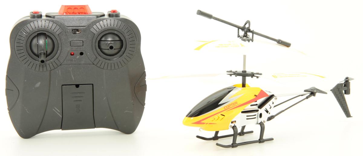 Balbi Вертолет на инфракрасном управлении цвет желтый A0G1082869 auldey вертолет на инфракрасном управлении sky wing