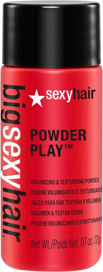 Sexy Hair Пудра для объема и текстуры, 2 гОБ33Самый быстрый способ получить сумасшедший объем и дополнительную текстуру на сухих волосах. Невесомая пудра на водной основе. Не содержит тальк, поэтому не делает волосы матовыми, незаметна при попадании на одежду. При воздействии влаги не склеивает волосы. Обладает эффектом памяти, позволяя менять стайлинг в течение дня.