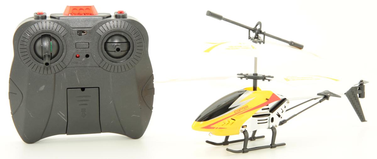 Balbi Вертолет на радиоуправлении цвет желтый A0G1082866 balbi вертолет на инфракрасном управлении цвет синий a0g1082868