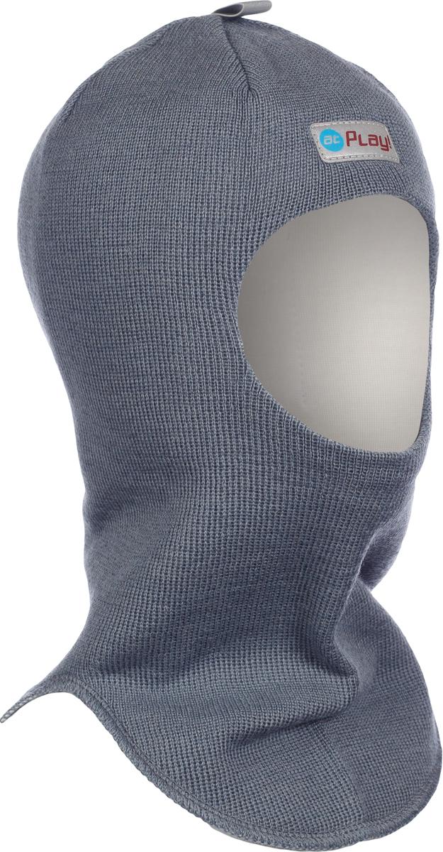 Шапка-шлем детская atPlay!, цвет: серый. 3hel770. Размер 46/503hel770Детская шапка-шлем от atPlay! обеспечит максимальную защиту головы и шеи ребенка при сильном ветре или морозе. Она плотно прилегает к голове, прикрывая уши, лоб и подбородок. Области лба и ушей утеплены дополнительно. Подкладка выполнена из мягкой хлопковой ткани, не вызывающей раздражений на нежной коже ребенка.