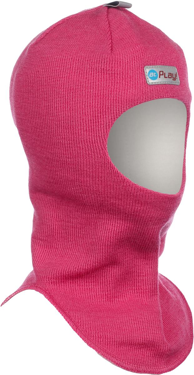 Шапка-шлем детская atPlay!, цвет: розовый. 3hel770. Размер 52/543hel770Детская шапка-шлем от atPlay! обеспечит максимальную защиту головы и шеи ребенка при сильном ветре или морозе. Она плотно прилегает к голове, прикрывая уши, лоб и подбородок. Области лба и ушей утеплены дополнительно. Подкладка выполнена из мягкой хлопковой ткани, не вызывающей раздражений на нежной коже ребенка.