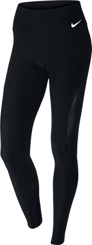 Тайтсы женские Nike Nk Pwr Tght Poly Mesh Fh, цвет: черный. 899740-010. Размер XS (40/42)899740-010Женские тайтсы для тренинга Nike Power из влагоотводящей ткани с плотной посадкой выгодно подчеркивают фигуру. Сетчатые вставки для дополнительной воздухопроницаемости. Эластичная ткань Nike Power обеспечивает поддержку.