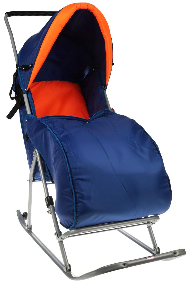 Фея Санки прогулочные Метелица Люкс цвет оранжевый5571_оранжевыйПрогулочные санки Фея Метелица Люкс предназначены для перевозки детей в положении сидя в возрасте от года до 3 лет.Широкие полозья обеспечивают легкое скольжение по снегу. Санки оснащены ремнем безопасности для фиксации малыша. Модель имеет тент, который складывается, утепленный чехол для ног и подставку для ног. Санки изготовлены с двумя задними маленькими колесиками, что очень удобно при перевозке через дорогу, где нет снега.