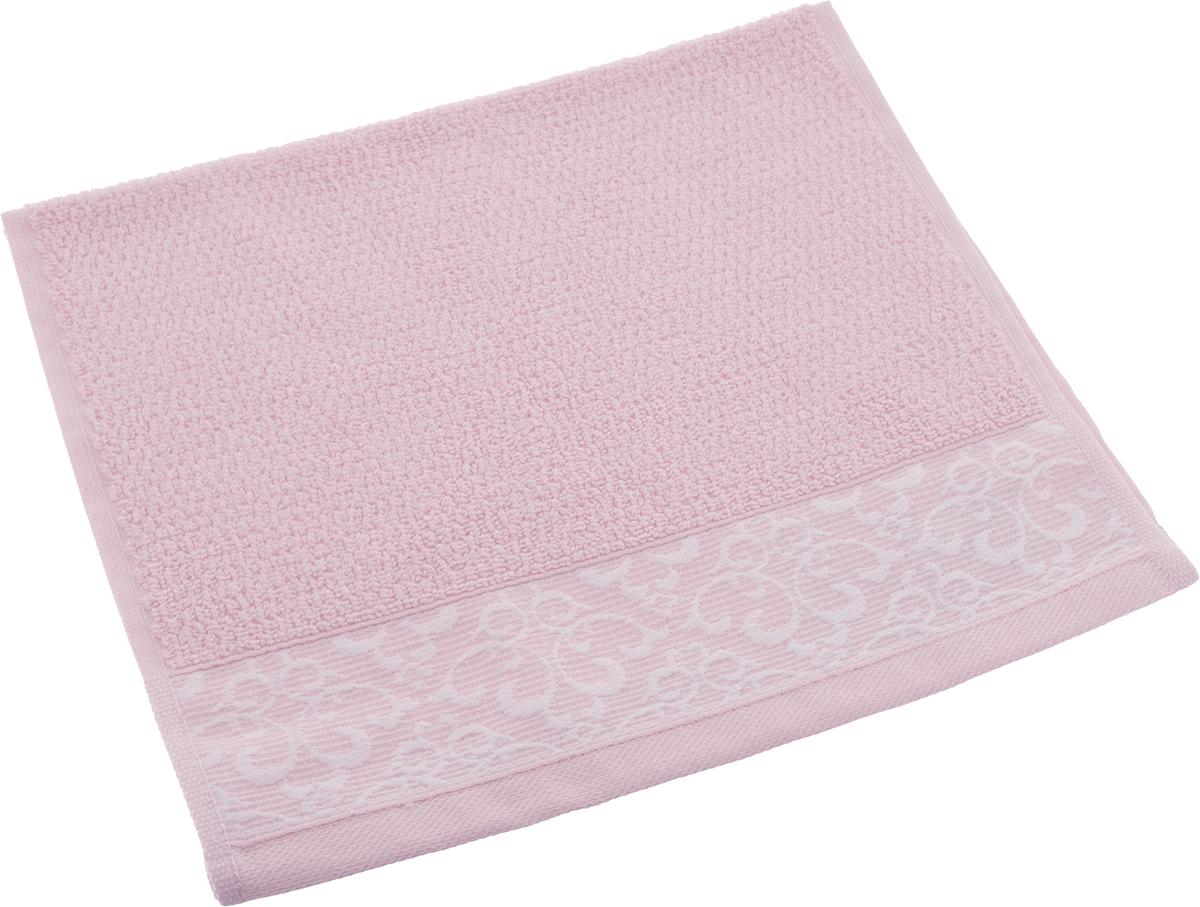 Полотенце махровое Issimo Home Verda, цвет: пудровый, 30 х 50 см00000005471Прекрасное полотенце Issimo Home Verda выполнено из натуральной махровой ткани (100% хлопок). Изделие отлично впитывает влагу, быстро сохнет и не теряет форму даже после многократных стирок.Рекомендации по уходу:- режим стирки при 40°C,- допускается обычная химчистка,- отбеливание запрещено,- глажка при температуре подошвы утюга до 110°С,- барабанный отжим запрещен.Размер полотенца: 30 x 50 см.
