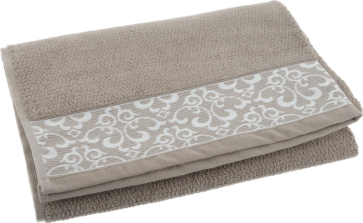 Полотенце банное Issimo Home Verda, цвет: коричневый, 70 х 140 см00000005479Банное полотенце Issimo Home Verda выполнено из натуральной махровой ткани (100% хлопок). Изделие отлично впитывает влагу, быстро сохнет и не теряет форму даже после многократных стирок.Рекомендации по уходу:- режим стирки при 40°C,- допускается обычная химчистка,- отбеливание запрещено,- глажка при температуре подошвы утюга до 110°С,- барабанный отжим запрещен.Размер полотенца: 70 x 140 см.