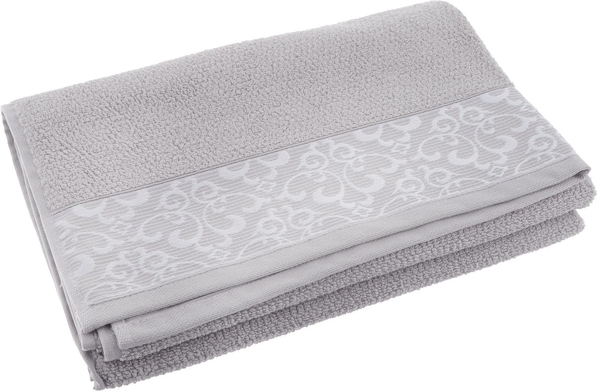 Полотенце банное Issimo Home Verda, цвет: серый, 70 х 140 см00000005476Банное полотенце Issimo Home Verda выполнено из натуральной махровой ткани (100% хлопок). Изделие отлично впитывает влагу, быстро сохнет и не теряет форму даже после многократных стирок.Рекомендации по уходу:- режим стирки при 40°C,- допускается обычная химчистка,- отбеливание запрещено,- глажка при температуре подошвы утюга до 110°С,- барабанный отжим запрещен.Размер полотенца: 70 x 140 см.