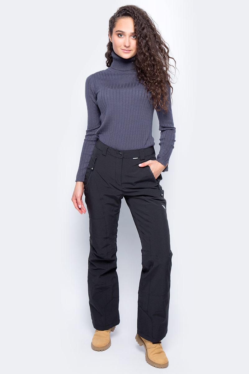Брюки утепленные женские Icepeak, цвет: черный. 854011535IV_990. Размер 40 (46)854011535IV_990