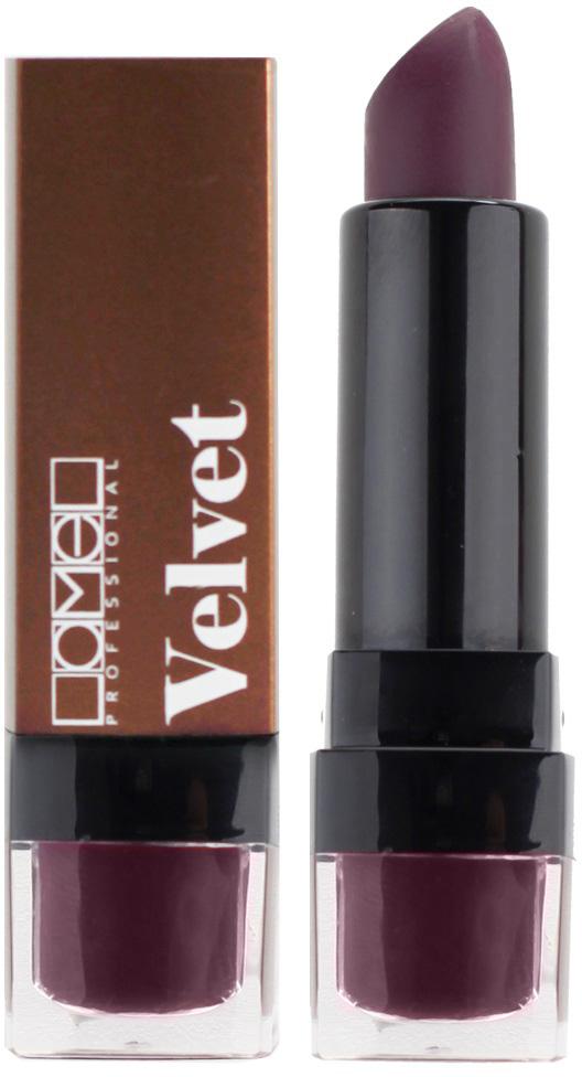 Lamel Professional Помада для губ Velvet матовая 06, 4 г туши lamel lamel professional тушь для ресниц ideal lash