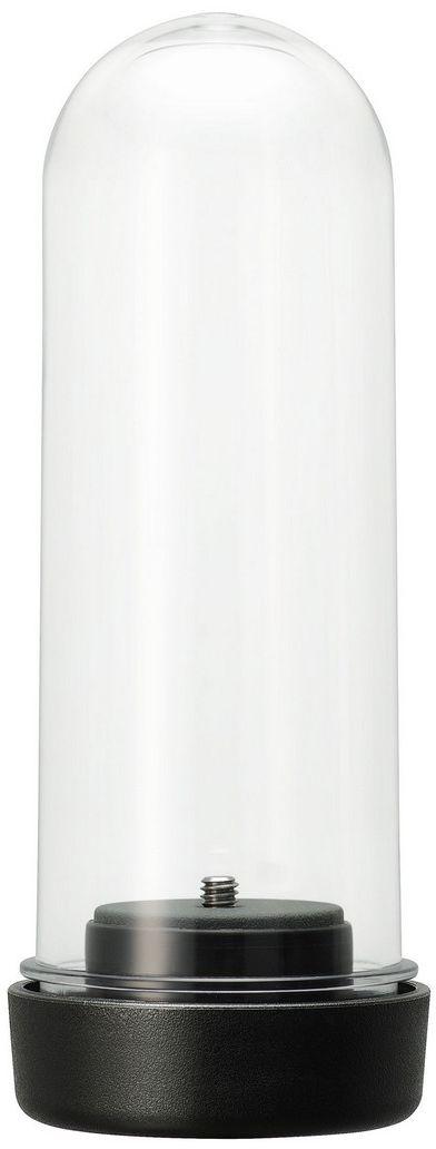 Pentax TH-2 чехол для Ricoh Theta M15/S/SC/VS0910752Влагозащитный чехол для панорамной камеры THETA выполнен из прочного прозрачного поликарбоната и предназначен для съемки эффектных сферических панорам в местах, где на камеру может попасть вода - дождь, снег морские волны, съемка водных видов спорта и т. д.Чехол обеспечивает класс защиты IPX7, что подразумевает надежную защиту уникальной камеры THETA от потоков воды*. Предусмотрено резьбовое гнездо, позволяющее установить чехол на фотоштатив или иное крепление со стандартной штативной резьбой.Совместим с моделями THETA M15, THETA SC, THETA S, THETA V.Чехол TH-2 не предусматривает возможность подводной съемки. Управление камерой, помещенной в чехол осуществляется с помощью внешнего мультимедийного устройства.