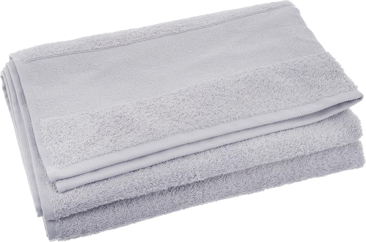 Полотенце банное Issimo Home Perin, цвет: серый, 70 х 140 см полотенце банное pupilla lamond dray 70 140 см