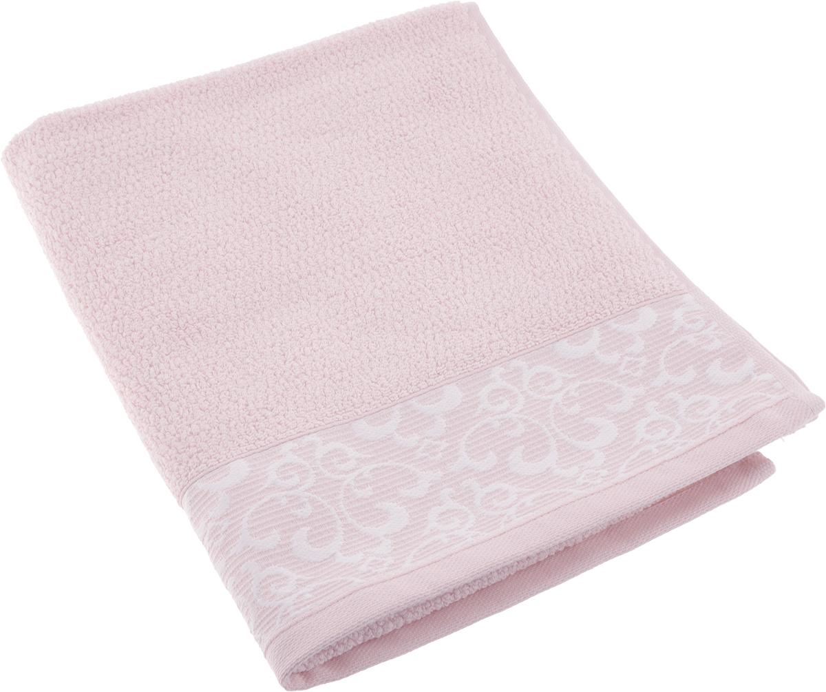 Полотенце махровое Issimo Home Verda, цвет: пудровый, 50 х 90 см00000005472Прекрасное полотенце Issimo Home Verda выполнено из натуральной махровой ткани (100% хлопок). Изделие отлично впитывает влагу, быстро сохнет и не теряет форму даже после многократных стирок.Рекомендации по уходу:- режим стирки при 40°C,- допускается обычная химчистка,- отбеливание запрещено,- глажка при температуре подошвы утюга до 110°С,- барабанный отжим запрещен.Размер полотенца: 50 x 90 см.
