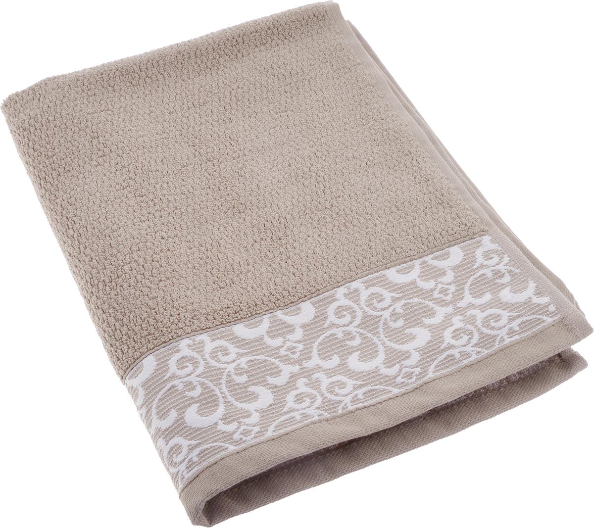 Полотенце махровое Issimo Home Verda, цвет: коричневый, 50 х 90 см00000005478Прекрасное полотенце Issimo Home Verda выполнено из натуральной махровой ткани (100% хлопок). Изделие отлично впитывает влагу, быстро сохнет и не теряет форму даже после многократных стирок.Рекомендации по уходу:- режим стирки при 40°C,- допускается обычная химчистка,- отбеливание запрещено,- глажка при температуре подошвы утюга до 110°С,- барабанный отжим запрещен.Размер полотенца: 50 x 90 см.