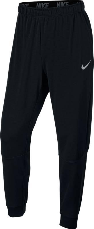 Брюки спортивные мужские Nike Nk Dry Pant Taper Fleece, цвет: черный. 860371-010. Размер M (46/48)860371-010Мужские брюки для тренинга Nike Dry созданы для скорости и концентрации. Модель можно носить поверх тайтсов или отдельно. Зауженный крой, регулируемый пояс и влагоотводящая ткань обеспечивают полный комфорт. Ткань Nike Dry отводит влагу и обеспечивает комфорт.