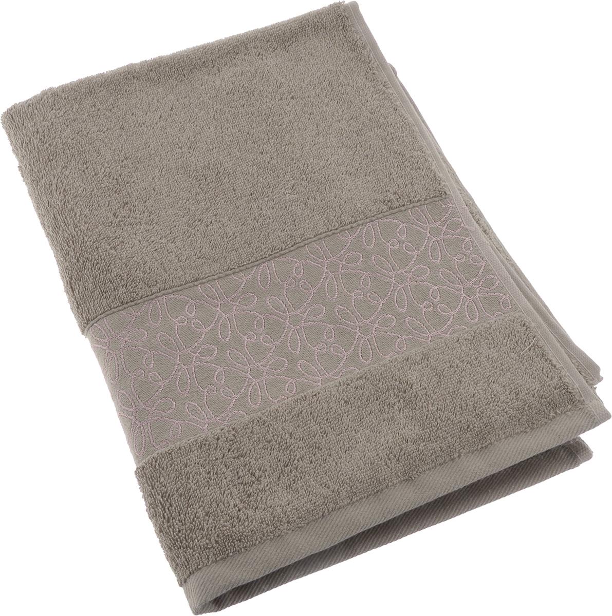 Полотенце махровое Issimo Home Perin, цвет: коричневый, 50 х 90 см00000005487Прекрасное полотенце Issimo Home Perin выполнено из натуральной махровой ткани (100%хлопок). Изделие отлично впитывает влагу, быстро сохнет и не теряет форму даже послемногократных стирок. Рекомендации по уходу: - режим стирки при 40°C, - допускается обычная химчистка, - отбеливание запрещено, - глажка при температуре подошвы утюга до 110°С, - барабанный отжим запрещен. Размер полотенца: 50 x 90 см.